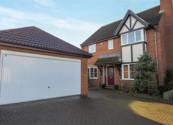 Thumbnail 4 bed detached house for sale in Teal Road, Biggleswade