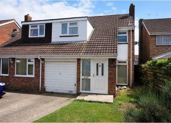 Thumbnail 3 bed semi-detached house for sale in Broadoak Close, Holbury, Southampton