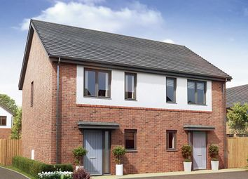 "Thumbnail 2 bed semi-detached house for sale in ""The Cranford"" at Garden House Drive, Acomb, Hexham"