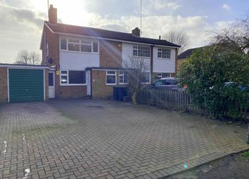 Thumbnail 3 bed semi-detached house for sale in Old Oak Close, Arlesey, Beds