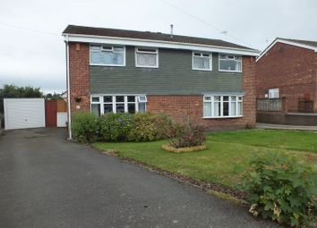 Thumbnail 3 bedroom semi-detached house for sale in Greenmoor Avenue, Wedgwood Farm Estate, Stoke-On-Trent