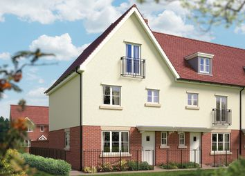 "Thumbnail 4 bed terraced house for sale in ""The Allington"" at Archer's Way, Amesbury, Salisbury"