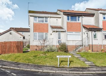Thumbnail 2 bed end terrace house for sale in Martyrs Place, Bishopbriggs, Glasgow