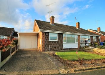 Thumbnail 2 bed semi-detached bungalow for sale in Perth Close, Mansfield Woodhouse, Mansfield, Nottinghamshire