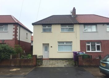 Thumbnail 3 bedroom semi-detached house to rent in Finborough Road, Walton, Liverpool