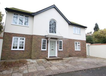Thumbnail 5 bed detached house to rent in Copper Beech Close, Hook Heath, Woking