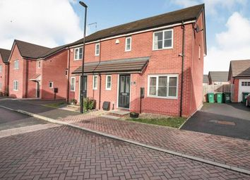 Thumbnail 3 bed semi-detached house for sale in Arena Avenue, Holbrooks, Coventry, West Midlands