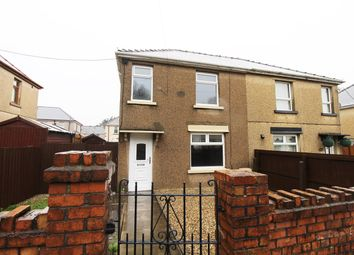 Thumbnail 3 bed semi-detached house for sale in Glanffrwd Avenue, Ebbw Vale