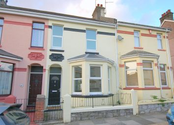 Thumbnail 3 bed terraced house for sale in Brunel Terrace, Plymouth