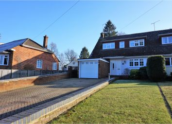 Thumbnail 3 bedroom semi-detached house for sale in Florence Road, Fleet