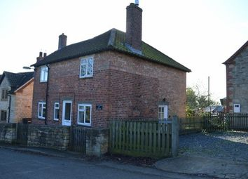 Thumbnail 3 bed cottage to rent in Church Lane, Croxton Kerrial, Grantham
