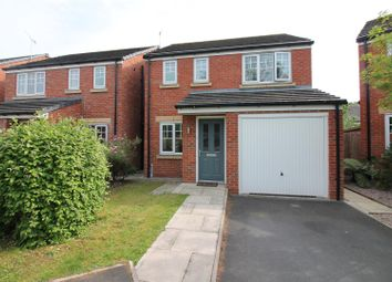 Thumbnail 3 bed detached house for sale in Prestwood Close, Urmston, Manchester