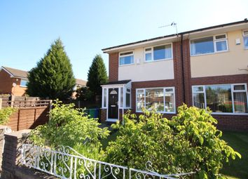 Thumbnail 3 bed semi-detached house for sale in Amberwood Drive, Manchester