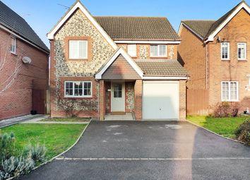 Thumbnail 4 bed detached house for sale in Iris Close, Littlehampton