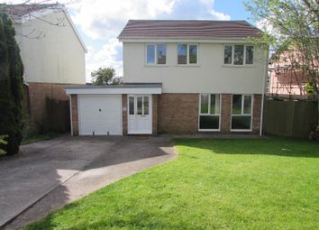 Thumbnail 4 bed detached house to rent in Church View, Laleston, Bridgend