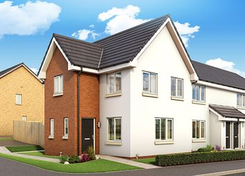 "Thumbnail 3 bed property for sale in ""The Fyvie"" at Torbeith Gardens, Hill Of Beath, Cowdenbeath"
