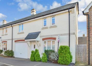 Thumbnail 3 bed end terrace house for sale in Harwood Close, Pulborough, West Sussex