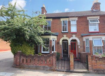 Thumbnail 2 bed end terrace house for sale in Cemetery Road, Ipswich