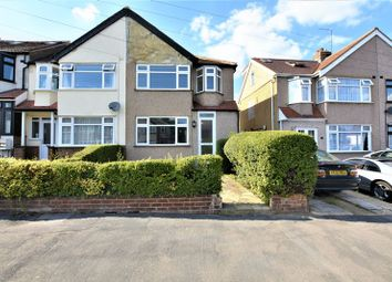 Thumbnail 3 bed semi-detached house to rent in The Drive, Collier Row, Romford
