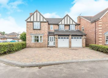 Thumbnail 5 bedroom detached house for sale in Radlow Crescent, Marston Green, Birmingham