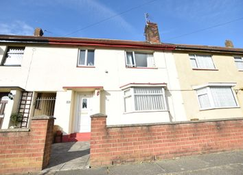 Thumbnail 3 bed terraced house for sale in Bathurst Avenue, Blackpool