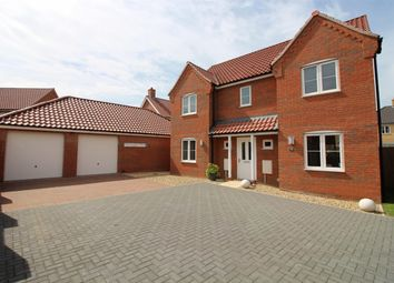 Thumbnail 4 bed detached house for sale in Maurecourt Drive, Brundall, Norwich