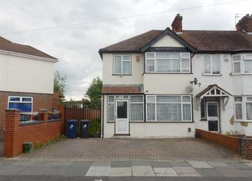 Thumbnail 3 bed end terrace house for sale in Cornwall Avenue, Southall, Middlesex