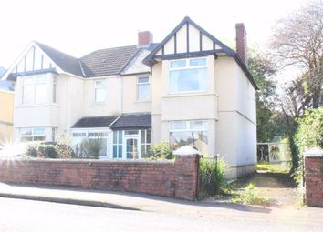 Thumbnail 3 bed semi-detached house for sale in Cecil Road, Gowerton, Swansea
