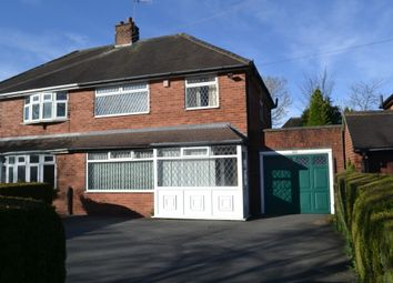 Thumbnail 3 bed semi-detached house for sale in Dartmouth Avenue, Westlands, Newcastle