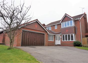 Thumbnail 4 bed detached house for sale in Criccieth Close, Buckley