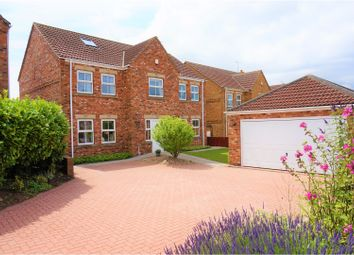 Thumbnail 6 bed detached house for sale in Cliff Drive, Scunthorpe