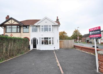 Thumbnail 3 bed semi-detached house for sale in Blackpool Road, Lea, Preston, Lancashire