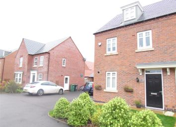 Thumbnail 3 bed terraced house for sale in Loddington Close, Syston, Leicester