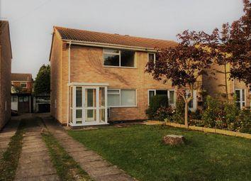 Thumbnail Semi-detached house to rent in Gavin Drive, Loughborough