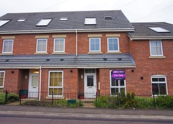 Thumbnail 3 bed town house for sale in Scot Hay Road, Newcastle