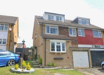 Thumbnail 4 bed semi-detached house for sale in Ladywood Road, Cuxton, Rochester