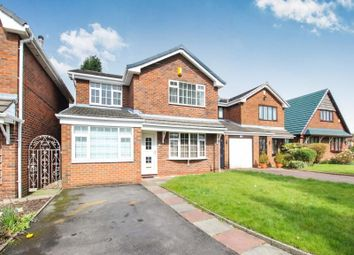 Thumbnail 3 bed detached house to rent in Reid Close, Denton, Manchester