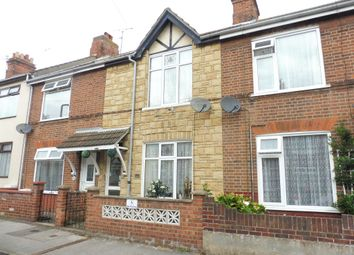Thumbnail 3 bedroom terraced house for sale in Maidstone Road, Lowestoft