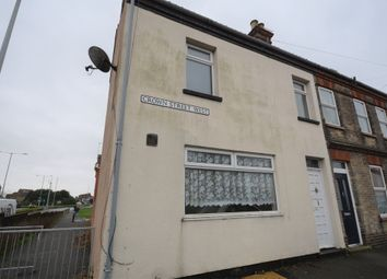 Thumbnail 2 bed end terrace house for sale in Crown Street West, Lowestoft