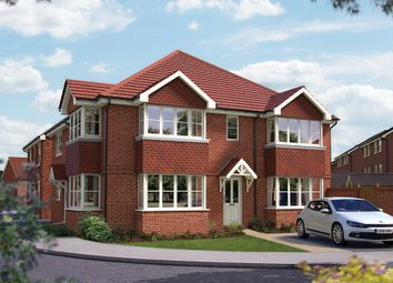 "Thumbnail 3 bedroom semi-detached house for sale in ""The Sheringham"" at Matthewsgreen Road, Wokingham"