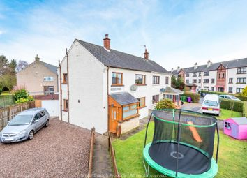 Thumbnail 3 bed semi-detached house for sale in Kirkden Street, Friockheim, Arbroath