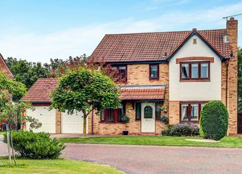 Thumbnail 4 bed detached house for sale in Epwell Grove, Cramlington