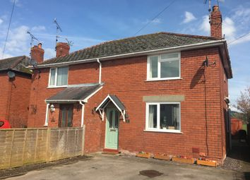 Thumbnail 3 bedroom semi-detached house for sale in Rockfield Road, Monmouth