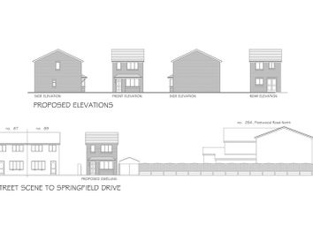 Thumbnail Land for sale in Plot Of Land, Adjacent To 89 Springfield Drive, Thornton-Cleveleys