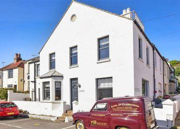 Thumbnail 3 bed end terrace house for sale in Wellington Place, Sandgate, Folkestone, Kent