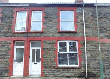 Thumbnail 3 bed terraced house to rent in Ilan Road, Abertridwr, Caerphilly