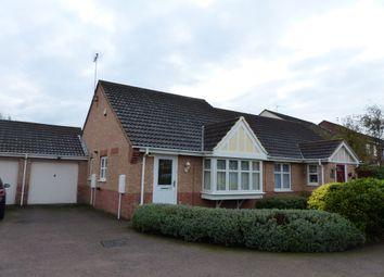 Thumbnail 2 bed semi-detached bungalow for sale in Meadenvale, Peterborough