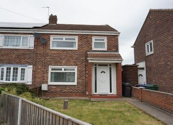 Thumbnail 3 bed semi-detached house for sale in Pipering Lane, Scawthorpe, Doncaster