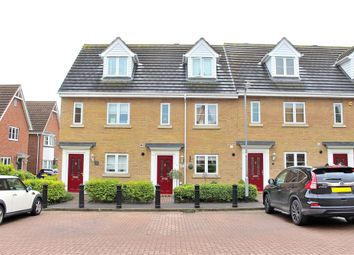 Thumbnail 3 bed terraced house for sale in Woodlands Park, Dunmow, Essex