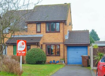 Thumbnail 2 bed semi-detached house for sale in Farmers Road, Bromsgrove, Worcestershire